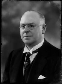 Sir George Gibson Mitcheson, by Bassano Ltd - NPG x153573