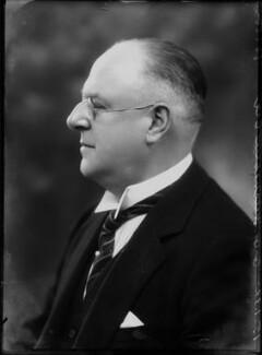 Sir George Gibson Mitcheson, by Bassano Ltd - NPG x153574