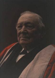 Sir Henry Enfield Roscoe, by Olive Edis - NPG x7204
