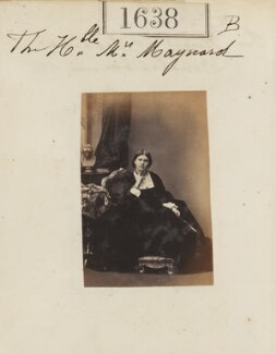 Blanche Adeliza (née Fitzroy), Countess of Rosslyn, by Camille Silvy, 8 November 1860 - NPG Ax51032 - © National Portrait Gallery, London