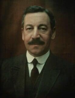 Herbert Louis Samuel, 1st Viscount Samuel, by Olive Edis - NPG x7206