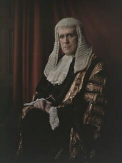 John Sankey, Viscount Sankey, by Olive Edis - NPG x7207