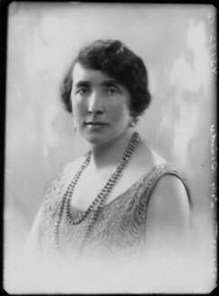 Dorothy Mary Mowbray (née Sayer), Lady Sturdee, by Bassano Ltd - NPG x153591
