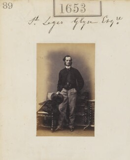 Hon. St Leger Richard Glyn, by Camille Silvy - NPG Ax51045