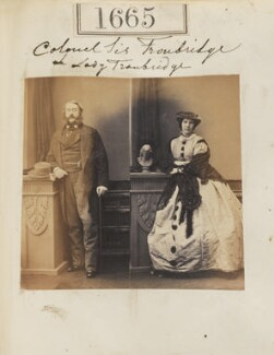 Sir Thomas St Vincent Hope Cochrane Troubridge, 3rd Bt, by Camille Silvy - NPG Ax51057