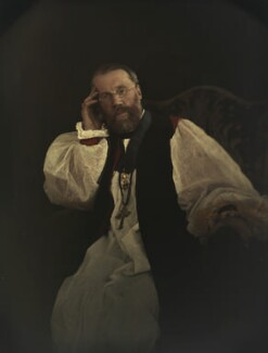 Edward Stuart Talbot, by Olive Edis - NPG x7209
