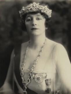 Grace Elvina Curzon (née Hinds), Marchioness Curzon of Kedleston, by Bertram Park - NPG x131931