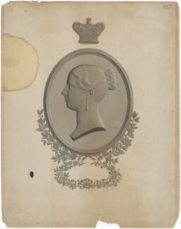 Queen Victoria, by Alfred Robert Freebairn, after  C. Henry Weigall - NPG D33571