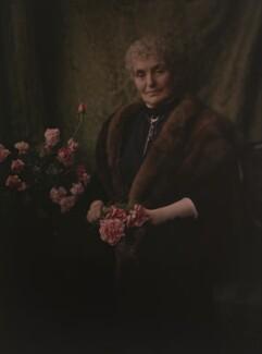 (Susan Elizabeth) Mary Jeune (née Stewart-Mackenzie), Lady St Helier, by Olive Edis - NPG x7205