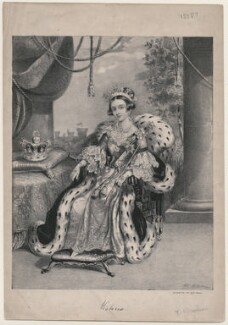 Queen Victoria, by T.C. Wilson, printed by  W. Clerk - NPG D33600