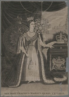 Queen Victoria, published by P & P Gally, after  Unknown artist - NPG D33602