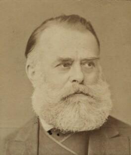 (Johann) Carl Haag, by Elliott & Fry - NPG Ax131884