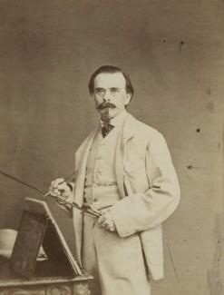 (Johann) Carl Haag, by Cundall, Downes & Co - NPG Ax131887