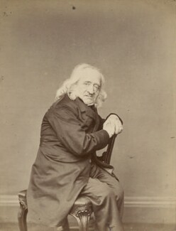 William Henry Hunt, by Cundall, Downes & Co - NPG Ax131891