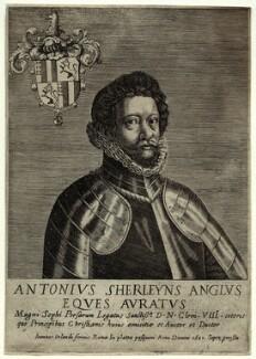 Anthony Sherley (Shirley), by Giovanni Orlandi - NPG D33607