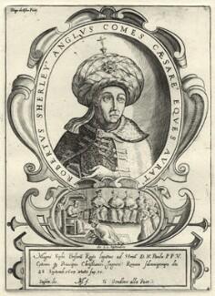 Sir Robert Shirley (Sherley), by Matthaus Greuter (Greuther), or by  Diego de Astor - NPG D33608