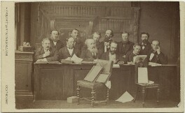 The Jury at the Tichborne Criminal Trial, by Watkins & Haigh - NPG Ax28436