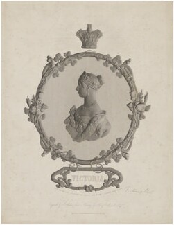Queen Victoria, by James Archer, published by  John Harris & Company, after  Henry Melville - NPG D33612