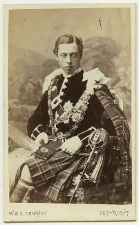 Prince Leopold, Duke of Albany, by W. & D. Downey - NPG Ax46164