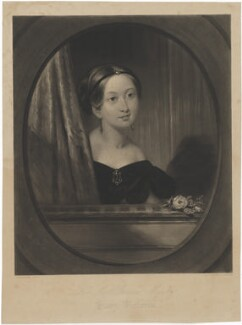 Queen Victoria, by George H. Every, after  J. Stewart - NPG D33618