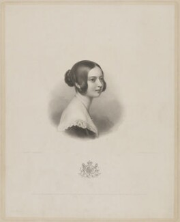 Queen Victoria, by Henry Thomas Ryall, published by  Colnaghi and Puckle, after  Sir William Charles Ross - NPG D33623