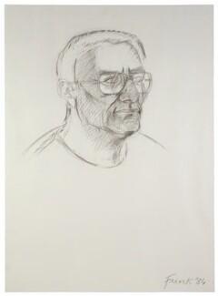Sir Peter Levin Shaffer, by Elisabeth Frink - NPG 6862