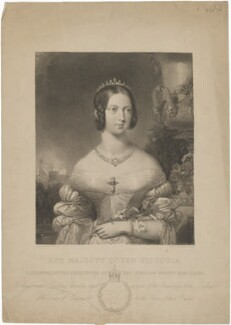 Queen Victoria, by James Posselwhite, after  Henry Corbould - NPG D33624