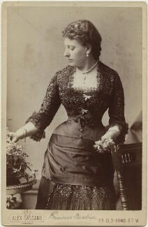 Princess Beatrice of Battenberg, by Alexander Bassano - NPG x32971