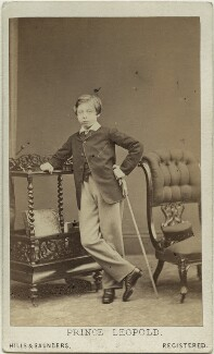 Prince Leopold, Duke of Albany, by Hills & Saunders, published by  A. Marion, Son & Co - NPG x15724