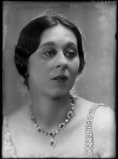 Dame Gwen Lucy Ffrangcon-Davies, by Yvonne Gregory - NPG x132002