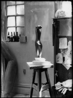 Maurice Lambert's studio ('Aphrodite'), by Yvonne Gregory - NPG x132007