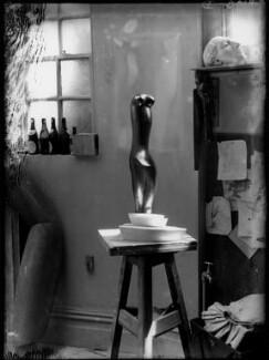 Maurice Lambert's studio ('Aphrodite'), by Yvonne Gregory - NPG x132009