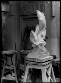 Maurice Lambert's studio, by Yvonne Gregory - NPG x132011