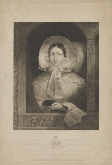 Queen Victoria, by James Posselwhite, after  Henry Edward Dawe - NPG D33632