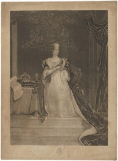 Queen Victoria, by John Charles Bromley, after  William Bromley - NPG D33633
