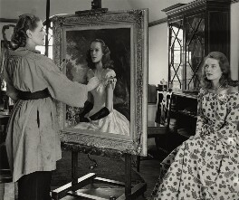 Anna Zinkeisen; Sally Ann Howes, by Tom Blau - NPG x131949