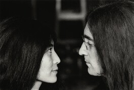 Yoko Ono; John Lennon, by Tom Blau, November 1969 - NPG x131955 - © Camera Press / Tom Blau