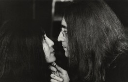 Yoko Ono; John Lennon, by Tom Blau - NPG x131956