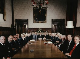 The Conservative Shadow Cabinet, by Tom Blau - NPG x131958