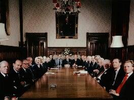 The Conservative Shadow Cabinet, by Tom Blau, 1977 - NPG x131958 - © Camera Press / Tom Blau