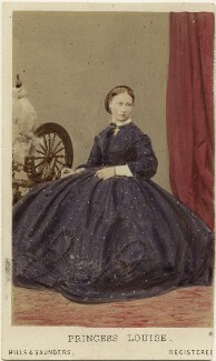 Princess Louise Caroline Alberta, Duchess of Argyll, by Hills & Saunders, published by  A. Marion, Son & Co - NPG Ax46758