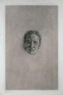 Sir Michael de Courcy Fraser Holroyd, by Matthew Carr, 2008 - NPG 6850 - © National Portrait Gallery, London
