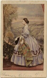 Princess Helena Augusta Victoria of Schleswig-Holstein, by John Jabez Edwin Mayall - NPG Ax46711