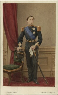 Prince Alfred, Duke of Edinburgh and Saxe-Coburg and Gotha, by John Jabez Edwin Mayall - NPG Ax46721