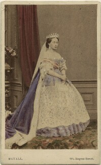 Princess Alice, Grand Duchess of Hesse, by John Jabez Edwin Mayall, published by  A. Marion, Son & Co - NPG Ax46720