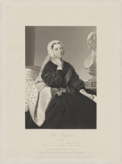 Queen Victoria, by William Holl Jr, published by  John Mitchell, after  Albert Graefle - NPG D33641