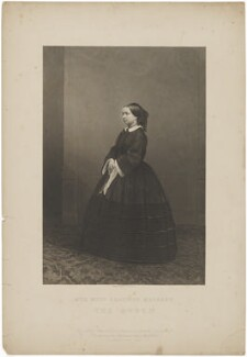 Queen Victoria, by Daniel John Pound, published by  Illustrated News of the World - NPG D33643