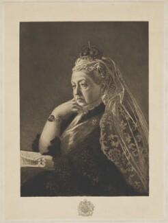 Queen Victoria, possibly after Heinrich von Angeli - NPG D33651