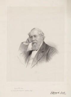 Edward Cock, by George B. Black - NPG D33690