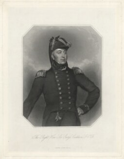 Sir George Cockburn, 10th Bt, by John Henry Robinson, after  John James Halls - NPG D33694